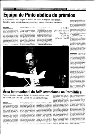 Fernando Pinto apresenta demissão